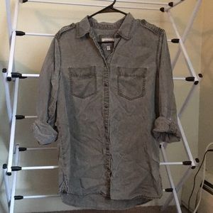 Express boyfriend button down shirt